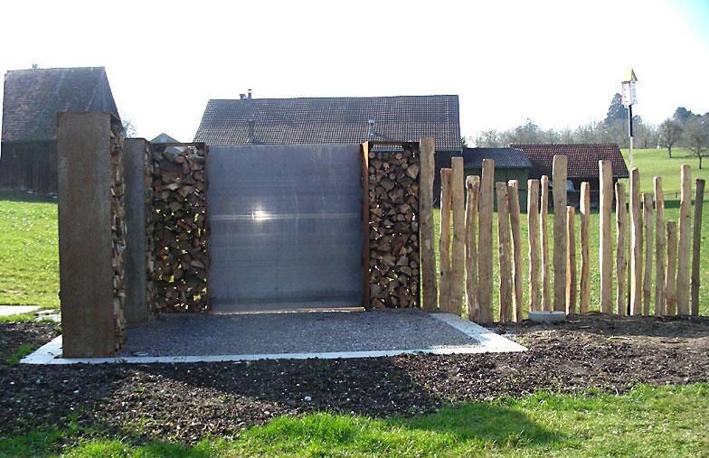 Gartenbau mit Holz