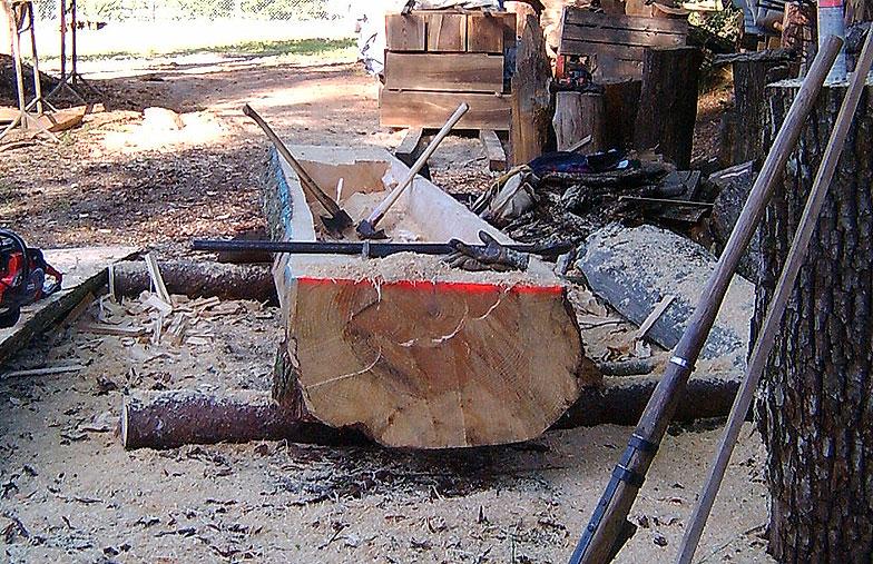 Brunnentröge aus Holz