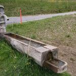 Holzbrunnen in Fallera