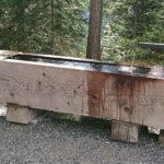 Holzbrunnen rechteckig